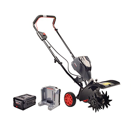 Powerworks TL60L2510PW 60V Brushless Tiller 25Ah Battery and Charger Included