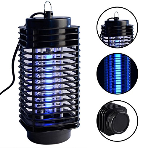 Generic O-8-O-1208-O 0V Blac With Trap Lamp p Lamp Zapper Killer er With Electric Mosquito Zapper 110V Black New Fly Bug Fly Bug Insect HX-US5-16Mar28-2903
