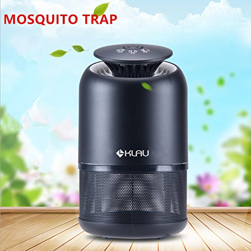 Klau Electronic Indoor Mosquitoinsectbug Trap Fly Killer 4 Watt Uv Bulbs Ultra-quiet Led Mosquito Lamp Harmless