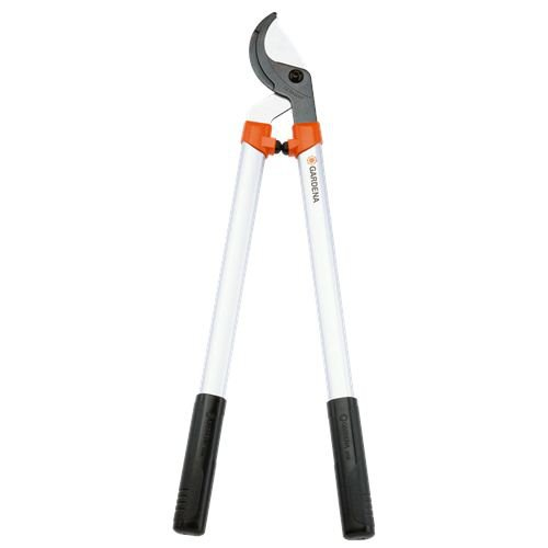 Gardena 8708 25-Inch Bypass Pruning Lopper With 1-12-Inch Cut Aluminum Handles