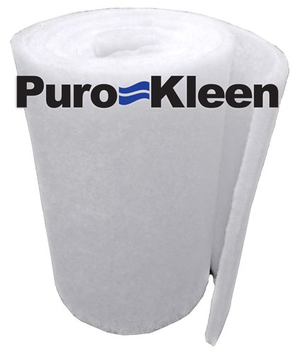 Puro-kleen Ultra-guard Premium Pondamp Aquarium Filter Media 12 Inches X 6 Feet