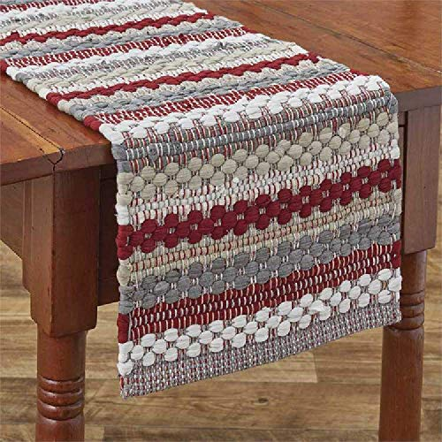 Park Designs Farmhouse Holiday Chindi Table Runner 13X54