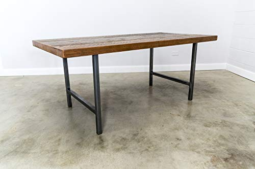Reclaimed Wood Dining Table and Matching Bench Combo  Salvaged Barn wood  250 Inches Thick Premium wood  FREE SHIPPING