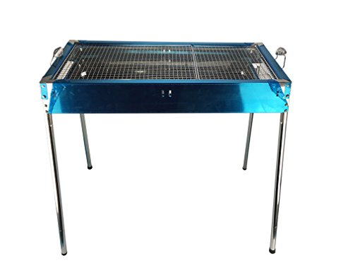 Ospard Camping Trip Portable Drawer-type iron BBQ Charcoal Grill CA-13B