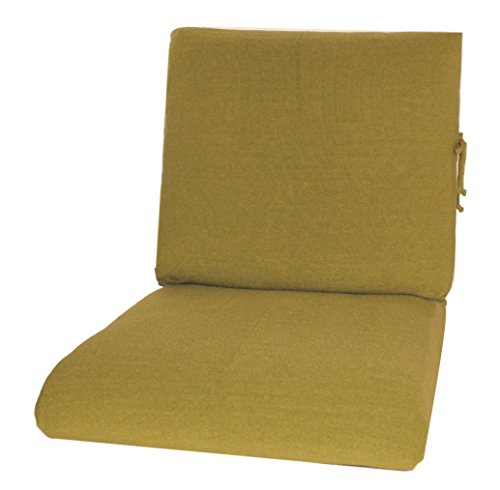 CushyChic Outdoors Slipcovers for Deep Seat Cushions in Fern - Slipcovers ONLY - Cushion Inserts NOT Included