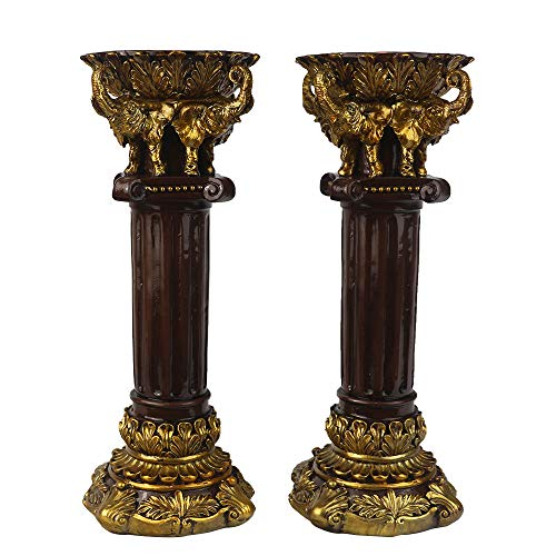 BJSM Candle Holders 11 inch Tall Candle Holder Wedding Event Candelabra Candle Stand Big Candlestick
