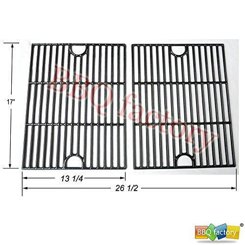 Bbq Factory Jgx192 Porcelain Cast Iron Cooking Grid Grate Replacement For Select Gas Grill Models By Kenmore