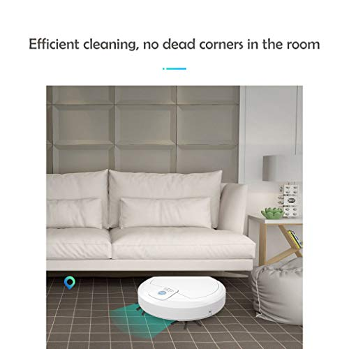 VECDUO WetDry Robotic Vacuums Cleaner Automatic Sweeping Smart Mopping Robot Super-Thin for Hard FloorTilePet Hair and Carpets