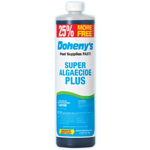 Dohenys Super Pool Algaecide Plus 1-quart Plus 8 Bonus Ounces Bottle