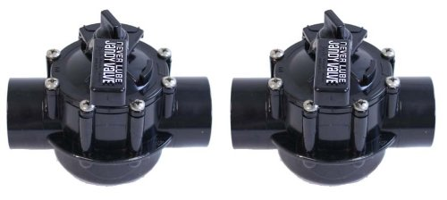 2 Jandy 4724 2 Port 15&quot-2&quot Never Lube Swimming Poolspa Valves Positive Seal
