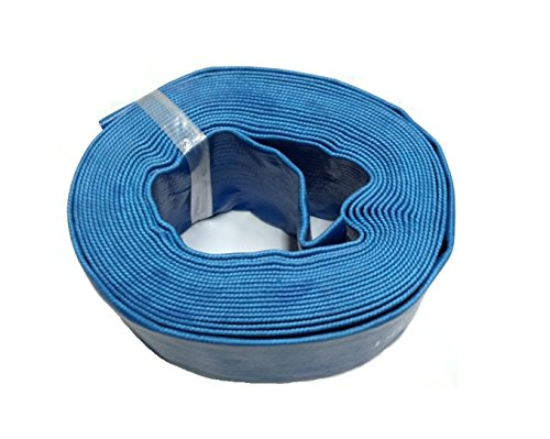 Swimming Pool Filter Discharge Backwash Hose 100 X 15&quot 100-ft X 1-12-inch